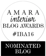 Amara Interior Blog Awards Nomination